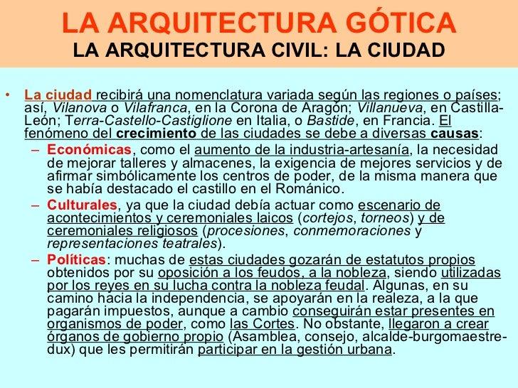 Caracter sticas de la arquitectura g tica for Que es arquitectura definicion