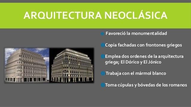 Caracter sticas de la arquitectura neocl sica en europa for Arquitectura moderna caracteristicas