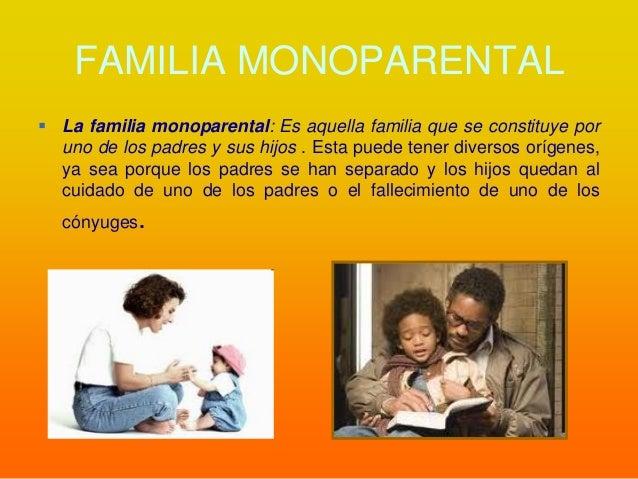 Definicion Legal Familia Monoparental prestamos