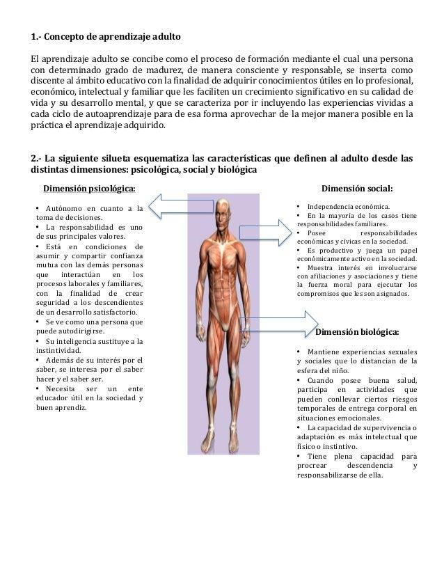 1.-‐  Concepto  de  aprendizaje  adulto      El  aprendizaje  adulto  se  concibe  como  el  pr...