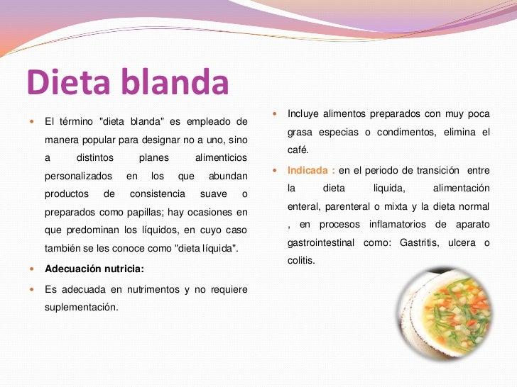 CaracteríSticas De Las Dietas