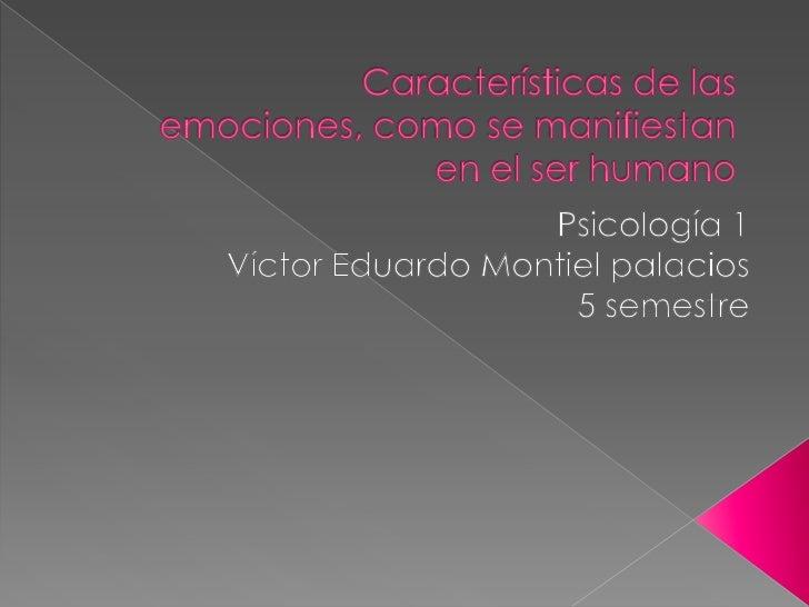    El estudio de las emociones individuales    permite un acercamiento a cada una de    ellas, para lograr el autoconocim...