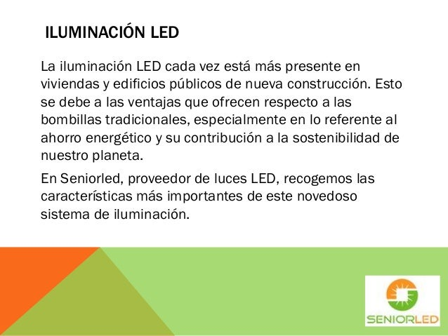 Caracter sticas de las luces led - Bombillas led caracteristicas ...