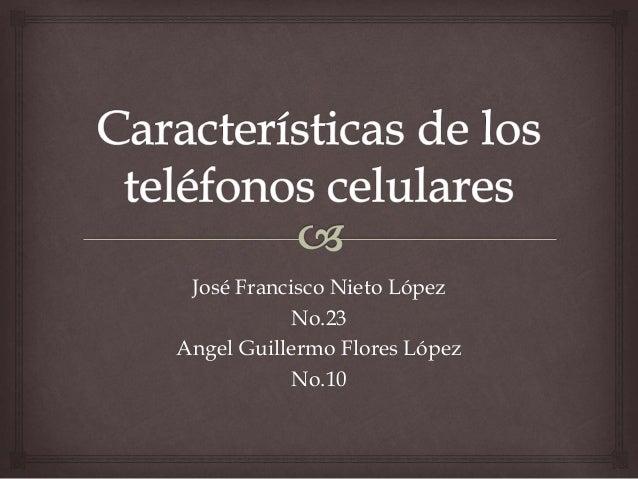 José Francisco Nieto López No.23 Angel Guillermo Flores López No.10