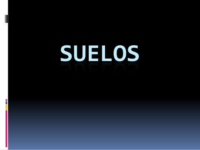 SUELOS
