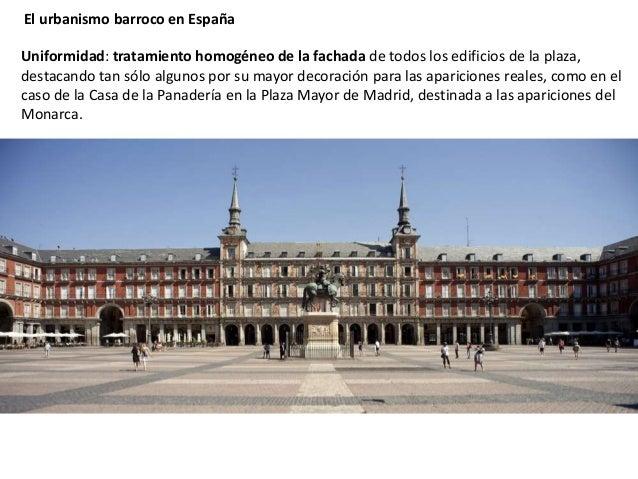 Caracter sticas del urbanismo barroco en espa a y - Spa urbano valladolid ...