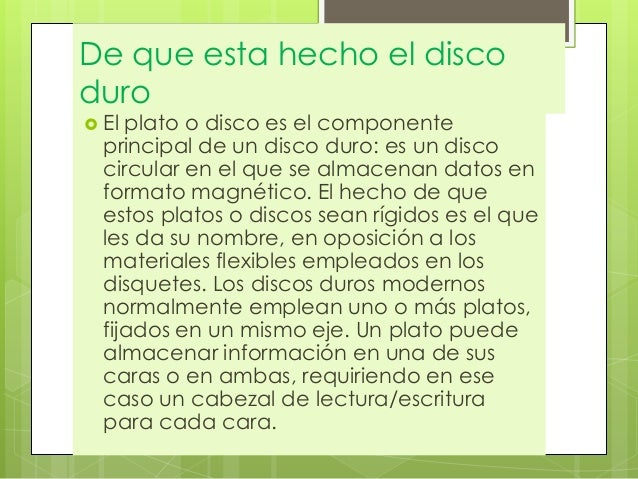 caracter sticas de materiales inform ticos