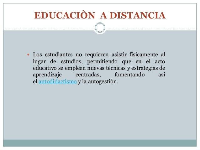 Características de roles de los estudiantes y tutores en la educación a distancia 2 Slide 2