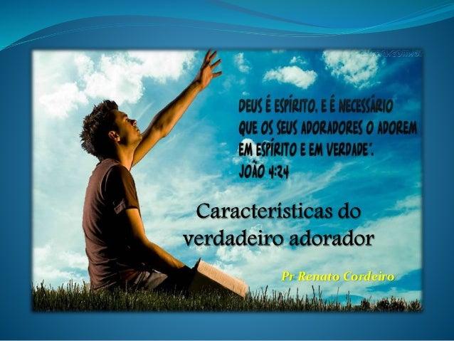 Pr Renato Cordeiro