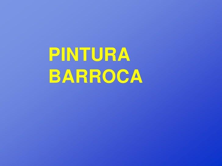 PINTURABARROCA