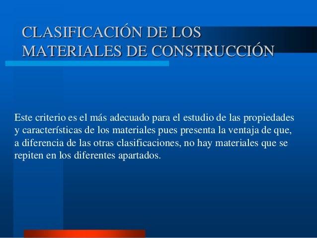 Caracter sticas materiales 1 - Materiales de construccion on line ...