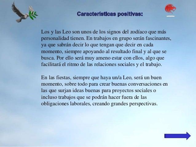 Caracter sticas positivas y negativas del signo de leo - Energias positivas y negativas ...