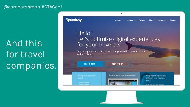 @caraharshman #CTAConf And this for travel companies.