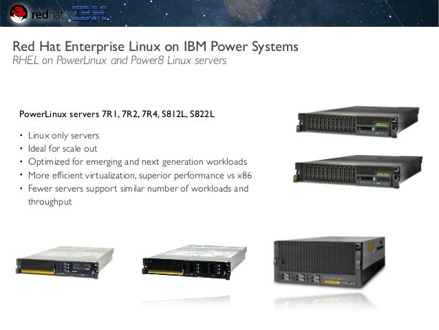 New Generation of IBM Power Systems Delivering value with Red Hat Ent…