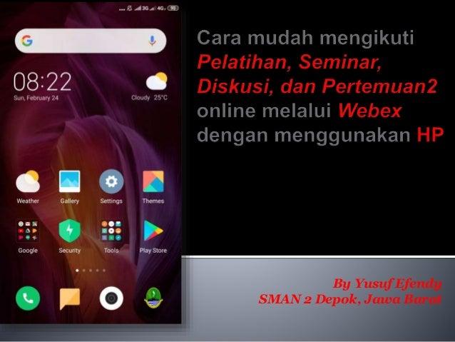 By Yusuf Efendy SMAN 2 Depok, Jawa Barat