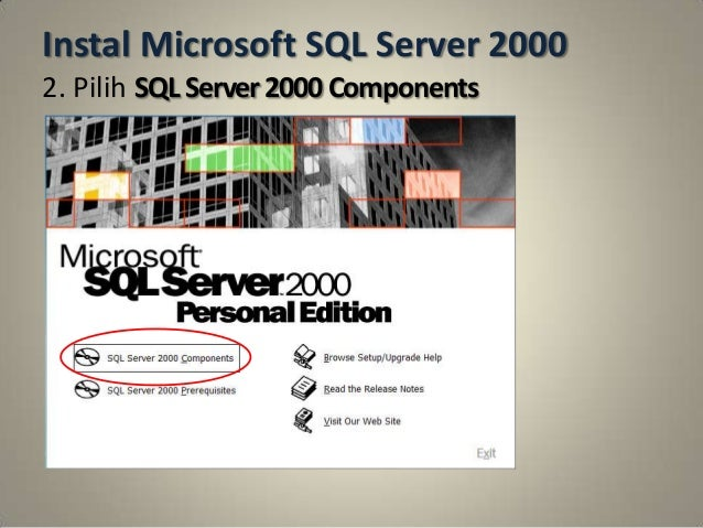 Sql server 2000 personal edition free download.