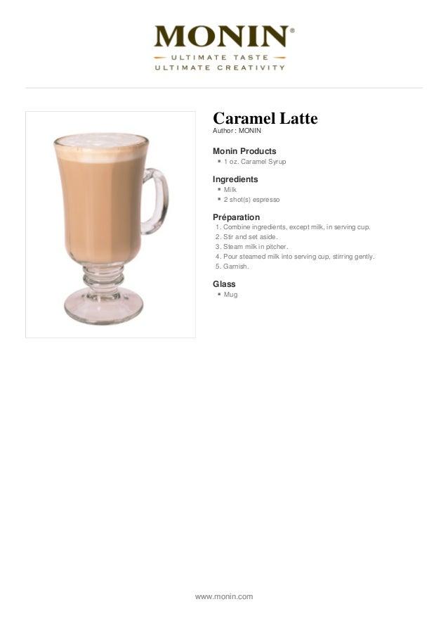 recipe: caramel latte recipe [7]