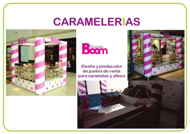CARAMELER ASI Diseño y producción de puntos de venta para caramelos y afines