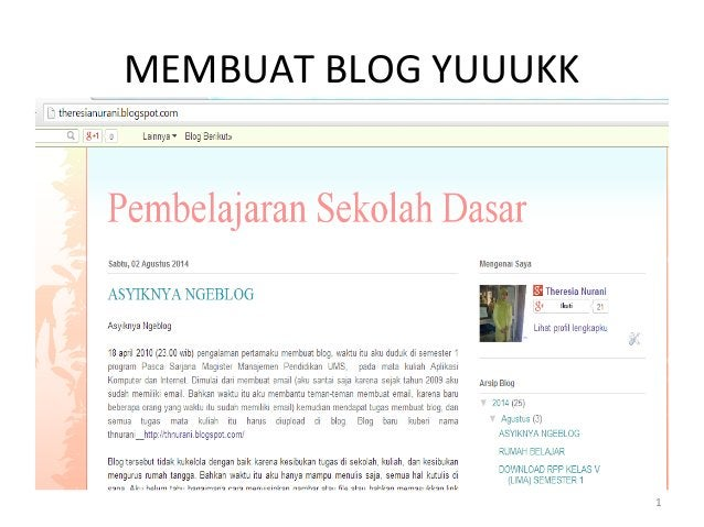 MEMBUAT BLOG YUUUKK 1