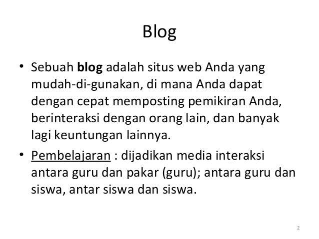 Cara membuat blog di www.blogspot.com Slide 2