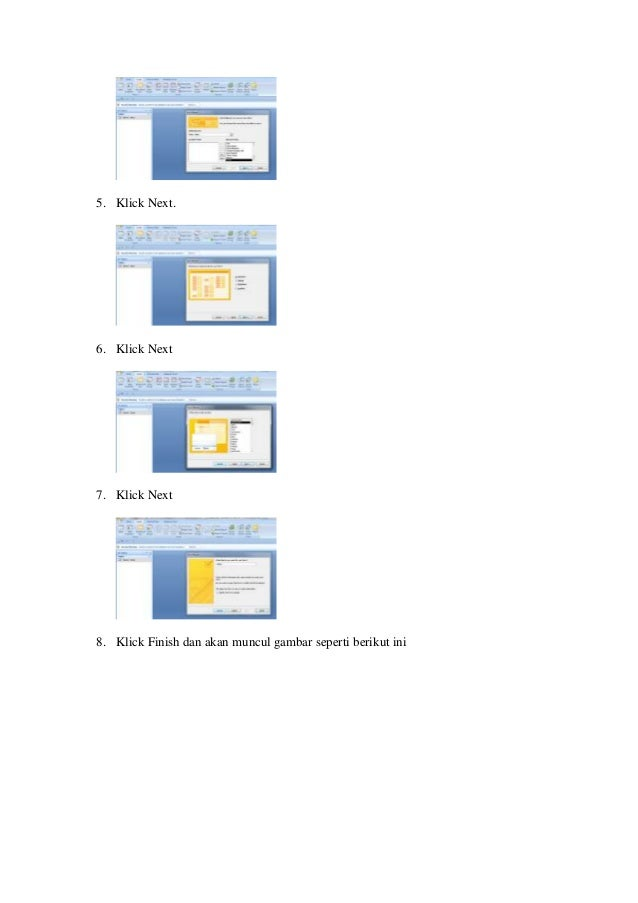 Cara membuat form aplikasi database microsoft access