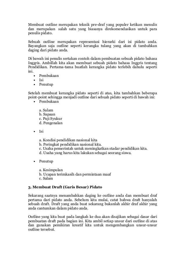 Bank Soal Dan Kisi Kisi Soal Ujian Contoh Pembukaan Dan Penutupan Pidato Bahasa Indonesia