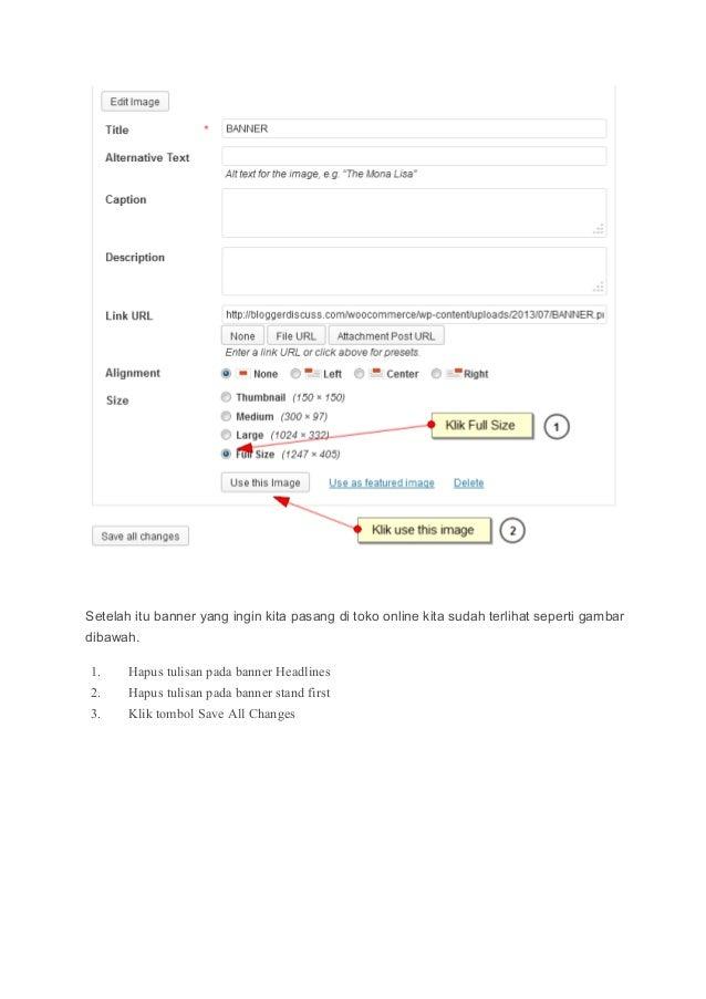 Cara membuat toko online menggunakan woo commerce