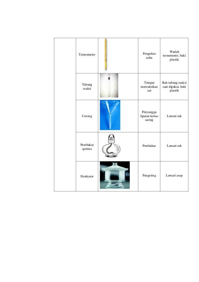 Cara Menata Alat Dan Bahan Di Laboratorium Kimia
