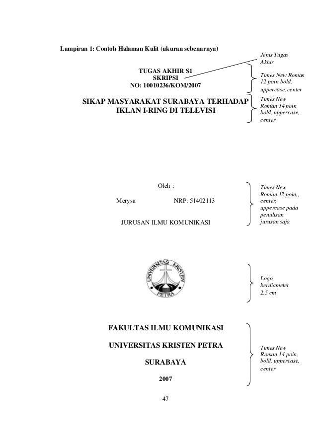 Judul Skripsi Kualitatif Library Research