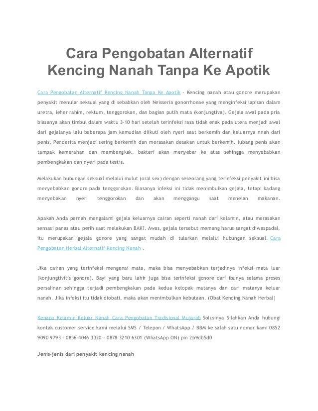 Cara Pengobatan Alternatif Kencing Nanah Tanpa Ke Apotik Cara Pengobatan Alternatif Kencing Nanah Tanpa Ke Apotik - Kencin...