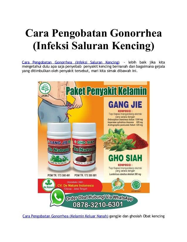 Cara Pengobatan Gonorrhea (Infeksi Saluran Kencing) Cara Pengobatan Gonorrhea (Infeksi Saluran Kencing) - lebih baik jika ...