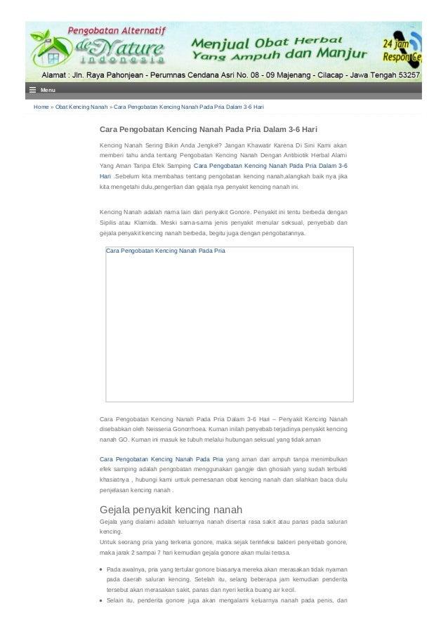 Home » Obat Kencing Nanah » Cara Pengobatan Kencing Nanah Pada Pria Dalam 3-6 Hari Cara Pengobatan Kencing Nanah Pada Pria...