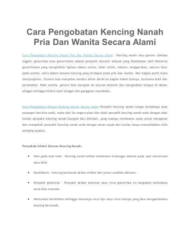 Cara Pengobatan Kencing Nanah Pria Dan Wanita Secara Alami Cara Pengobatan Kencing Nanah Pria Dan Wanita Secara Alami - Ke...
