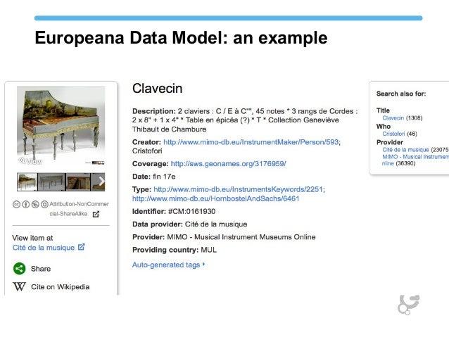 Europeana Data Model: an example