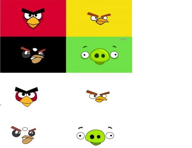 Caras angry birds