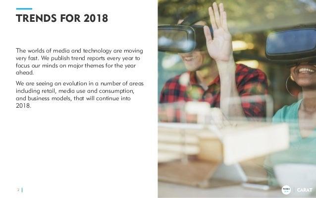 Carat's 10 Trends for 2018 Slide 2