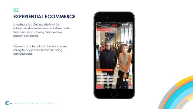Experiential eCommerce will allow brands to let customers try before they buy. It will be most relevant for products custo...