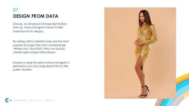 Design from Data is likely to bring biggest benefits to established brands with a large amount of data, or access to partn...