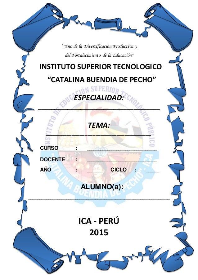 Caratula Ist Catalina