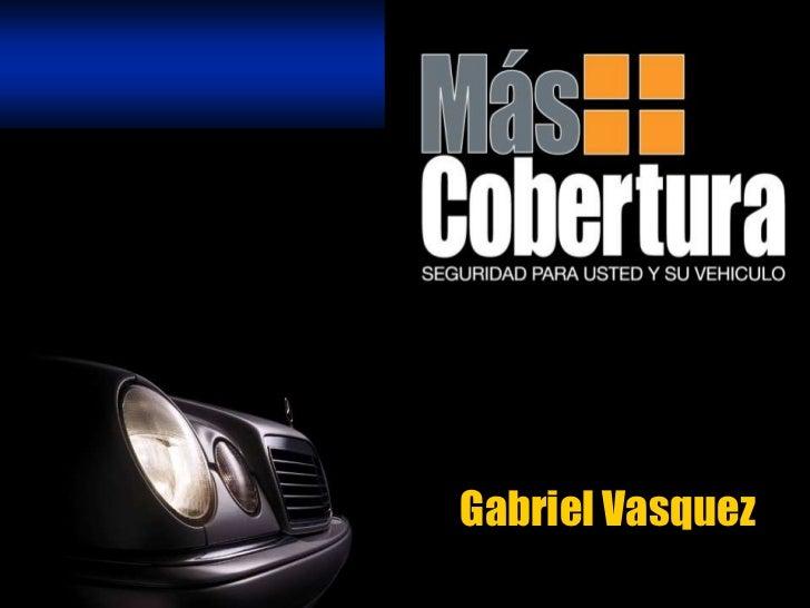 Gabriel Vasquez<br />