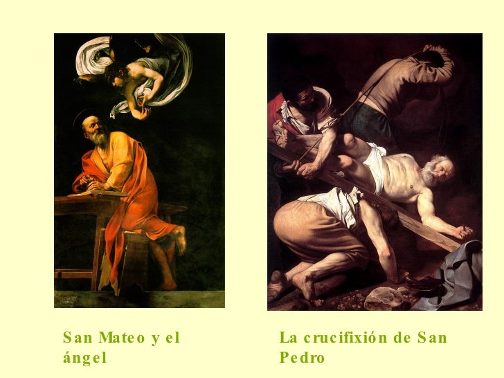 La crucifixión de San Pedro San Mateo y el  ángel