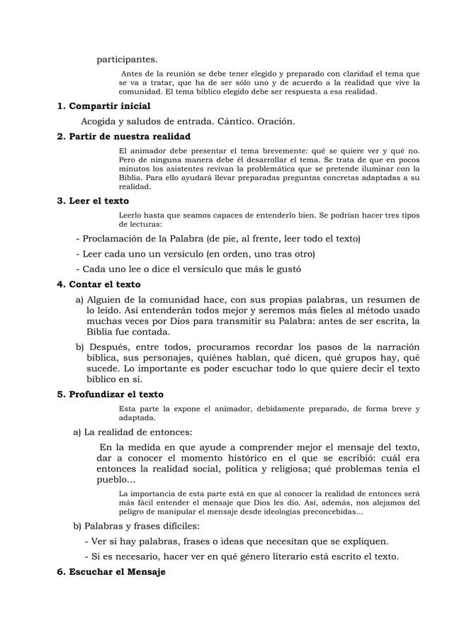 José Luis Caravias - Biblia, fe, vida