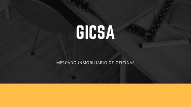 GICSA MERCADO INMOBILIARIO DE OFICINAS