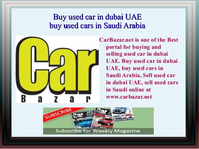 Carbazar - Buy used car in dubai UAE