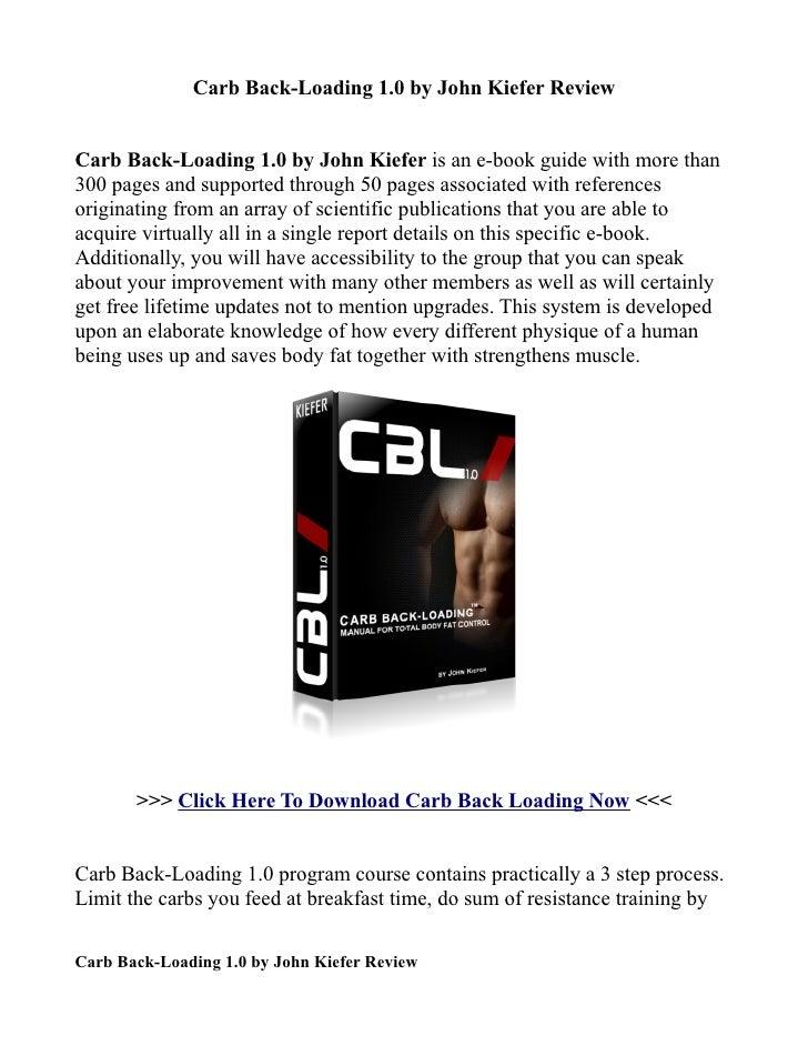 Infos nutritionnelles de Carb Backloading, calories et ...