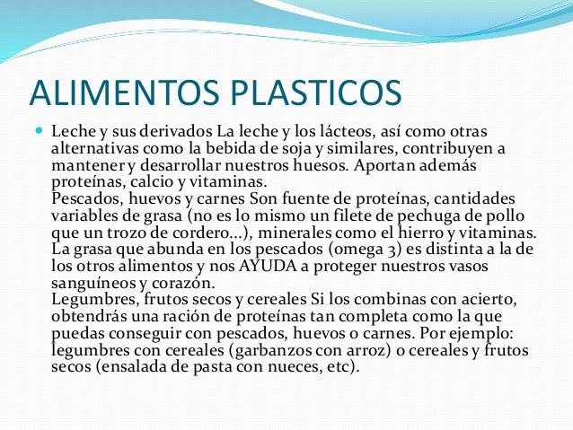 ALIMENTOS PLASTICOS  Leche y sus derivados La leche y los lácteos, así como otras alternativas como la bebida de soja y s...
