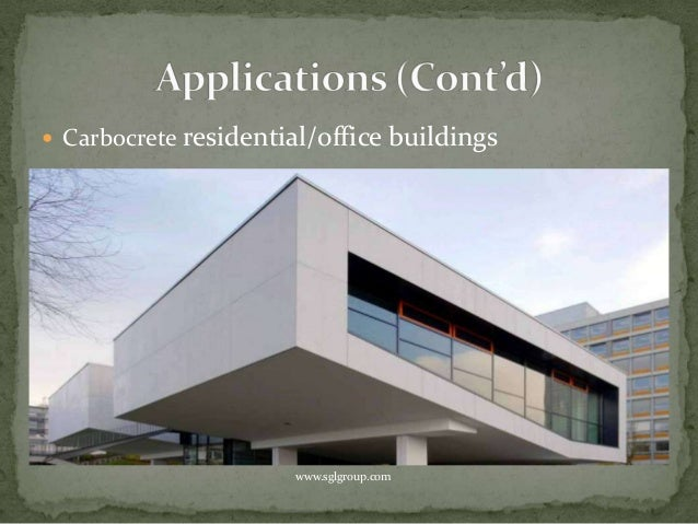 Carbon Fiber Reinforced Concrete Carbocrete