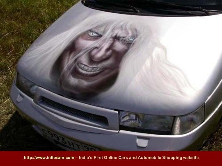 Amazing Car Body Art