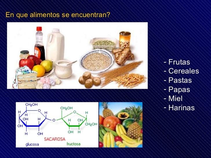 Carbohidratos - En que alimentos encontramos magnesio ...
