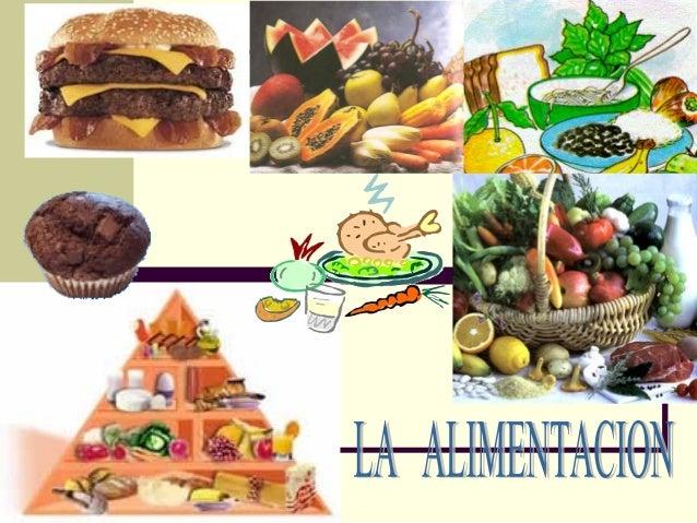  De los alimentos que se muestran en la presentación ¿Cuáles son tus preferidos?  ¿Cuál es la diferencia entre alimentos...
